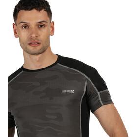Regatta Camito T-Shirt Homme, magnet/black